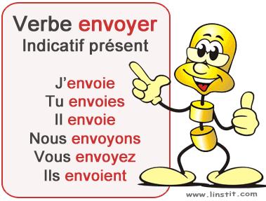 Toute La Conjugaison Verbe Envoyer Conjugaison Et Exercices