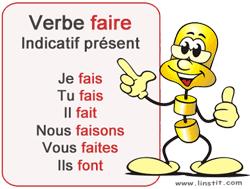 Toute La Conjugaison Verbe Faire Conjugaison Et Exercices