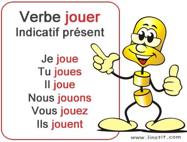 Toute La Conjugaison Verbe Jouer Conjugaison Et Exercices