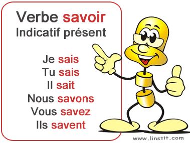 Toute La Conjugaison Verbe Savoir Conjugaison Et Exercices